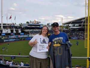 Carla attended Kansas City Royals vs. Chicago Cubs - MLB on Aug 7th 2018 via VetTix