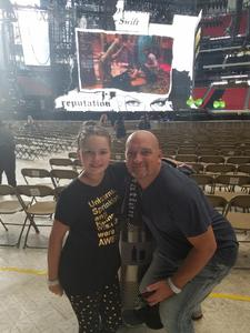 Jody attended Taylor Swift Reputation Stadium Tour - Pop on Aug 10th 2018 via VetTix