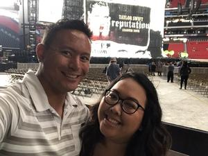 Dominic attended Taylor Swift Reputation Stadium Tour - Pop on Aug 10th 2018 via VetTix