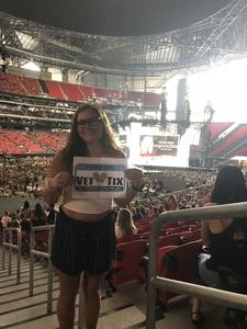 Bailey attended Taylor Swift Reputation Stadium Tour - Pop on Aug 10th 2018 via VetTix