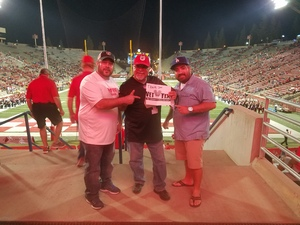 Jose attended Fresno State Bulldogs vs. Wyoming - NCAA Football on Oct 13th 2018 via VetTix