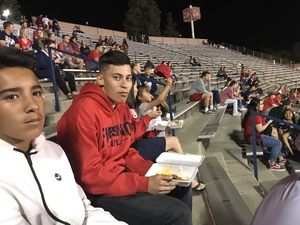 marcus attended Fresno State Bulldogs vs. Wyoming - NCAA Football on Oct 13th 2018 via VetTix