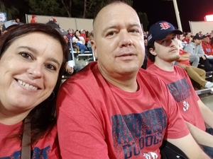 Michael attended Fresno State Bulldogs vs. Wyoming - NCAA Football on Oct 13th 2018 via VetTix