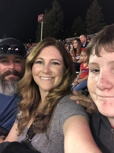 Danielle attended Fresno State Bulldogs vs. Wyoming - NCAA Football on Oct 13th 2018 via VetTix