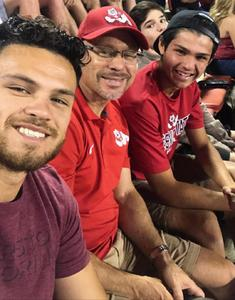 Brian attended Fresno State Bulldogs vs. Wyoming - NCAA Football on Oct 13th 2018 via VetTix