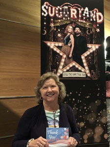 Mary Louise attended Sugarland Still the Same 2018 Tour on Aug 3rd 2018 via VetTix