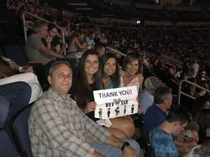 William attended Sugarland Still the Same 2018 Tour on Aug 3rd 2018 via VetTix