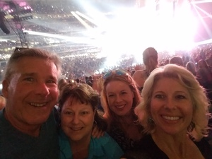 TIFFANY MCDONALD attended Taylor Swift Reputation Stadium Tour - Pop on Aug 31st 2018 via VetTix