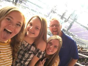 William attended Taylor Swift Reputation Stadium Tour - Pop on Aug 31st 2018 via VetTix