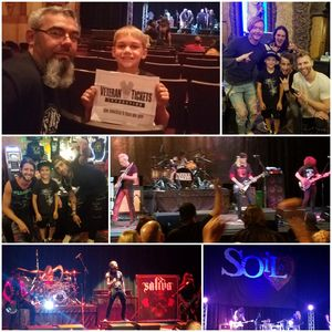 Click To Read More Feedback from Resurrection Tour featuring Puddle of Mudd and Saliva with special guests Soil, Tantric, and Shallow Side