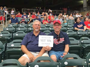 Dave attended Minnesota Twins vs. Oakland Athletics - MLB on Aug 26th 2018 via VetTix