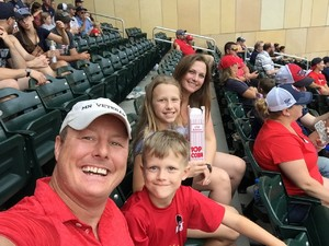 James attended Minnesota Twins vs. Oakland Athletics - MLB on Aug 26th 2018 via VetTix