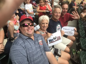 Alan attended Minnesota Twins vs. Oakland Athletics - MLB on Aug 26th 2018 via VetTix