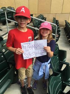 Kevin attended Minnesota Twins vs. Oakland Athletics - MLB on Aug 26th 2018 via VetTix