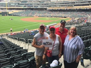 Russell attended Minnesota Twins vs. Oakland Athletics - MLB on Aug 26th 2018 via VetTix