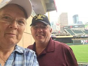 Jim attended Minnesota Twins vs. Oakland Athletics - MLB on Aug 26th 2018 via VetTix