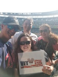 Alexander attended Minnesota Twins vs. Oakland Athletics - MLB on Aug 26th 2018 via VetTix