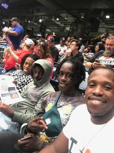 Kedrick attended 2018 Advocare Texas Kickoff - Ole Miss vs. Texas Tech - NCAA Football on Sep 1st 2018 via VetTix