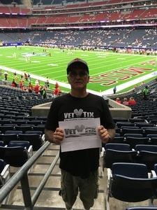 Daniel attended 2018 Advocare Texas Kickoff - Ole Miss vs. Texas Tech - NCAA Football on Sep 1st 2018 via VetTix