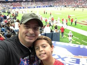 David O. attended 2018 Advocare Texas Kickoff - Ole Miss vs. Texas Tech - NCAA Football on Sep 1st 2018 via VetTix