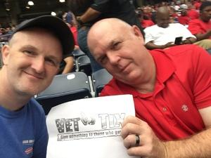 Randy attended 2018 Advocare Texas Kickoff - Ole Miss vs. Texas Tech - NCAA Football on Sep 1st 2018 via VetTix