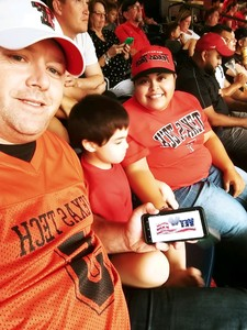 Robert attended 2018 Advocare Texas Kickoff - Ole Miss vs. Texas Tech - NCAA Football on Sep 1st 2018 via VetTix