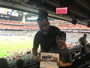 Ryan attended 2018 Advocare Texas Kickoff - Ole Miss vs. Texas Tech - NCAA Football on Sep 1st 2018 via VetTix