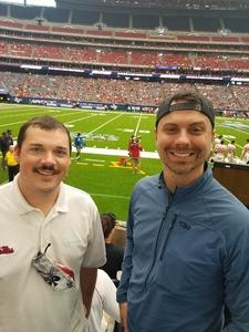 Patrick attended 2018 Advocare Texas Kickoff - Ole Miss vs. Texas Tech - NCAA Football on Sep 1st 2018 via VetTix
