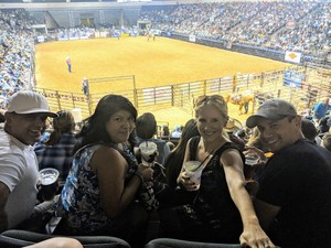 nicole attended Cedar Park Rodeo - Presented by the HEB Center at Cedar Park on Aug 18th 2018 via VetTix