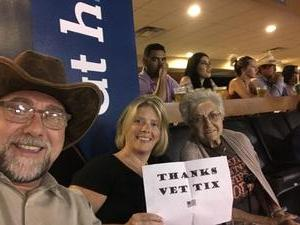 Mark attended Cedar Park Rodeo - Presented by the HEB Center at Cedar Park on Aug 18th 2018 via VetTix
