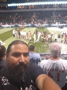 Andres attended Legends Cup - Championship Game - Austin Acoustic vs. Chicago Bliss - Legends Football League - Women of the Gridiron on Sep 8th 2018 via VetTix