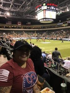 Andrea De La Garza attended Legends Cup - Championship Game - Austin Acoustic vs. Chicago Bliss - Legends Football League - Women of the Gridiron on Sep 8th 2018 via VetTix