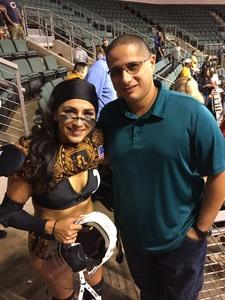 CHRISTIAN attended Legends Cup - Championship Game - Austin Acoustic vs. Chicago Bliss - Legends Football League - Women of the Gridiron on Sep 8th 2018 via VetTix