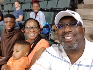Ronald attended Legends Cup - Championship Game - Austin Acoustic vs. Chicago Bliss - Legends Football League - Women of the Gridiron on Sep 8th 2018 via VetTix