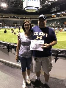 Jason Bottino attended Legends Cup - Championship Game - Austin Acoustic vs. Chicago Bliss - Legends Football League - Women of the Gridiron on Sep 8th 2018 via VetTix