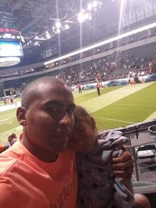 Carlos attended Legends Cup - Championship Game - Austin Acoustic vs. Chicago Bliss - Legends Football League - Women of the Gridiron on Sep 8th 2018 via VetTix