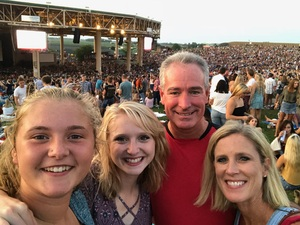 Ronnie attended Rascal Flatts: Back to US Tour 2018 - Lawn Seats on Aug 9th 2018 via VetTix