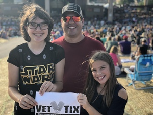Mathew attended Chicago / Reo Speedwagon on Aug 11th 2018 via VetTix