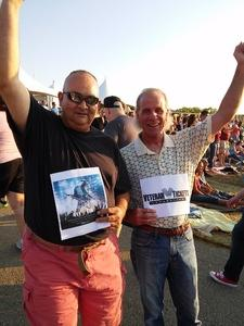 Brian attended Chicago / Reo Speedwagon on Aug 11th 2018 via VetTix