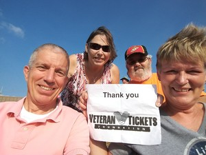 Perry attended Chicago / Reo Speedwagon on Aug 11th 2018 via VetTix
