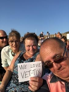 Dallas attended Chicago / Reo Speedwagon on Aug 11th 2018 via VetTix