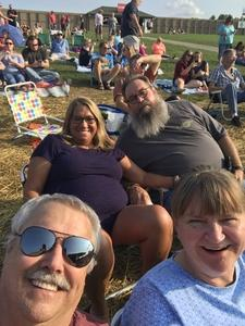 Melvin attended Chicago / Reo Speedwagon on Aug 11th 2018 via VetTix