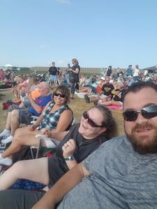 Aaron attended Chicago / Reo Speedwagon on Aug 11th 2018 via VetTix