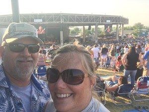 Eric attended Chicago / Reo Speedwagon on Aug 11th 2018 via VetTix