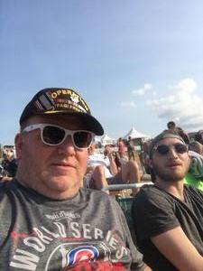 Steven attended Chicago / Reo Speedwagon on Aug 11th 2018 via VetTix