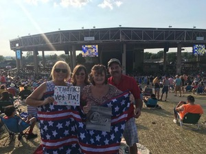 Deanna attended Chicago / Reo Speedwagon on Aug 11th 2018 via VetTix
