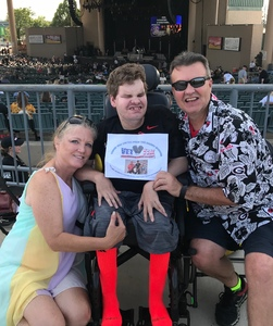 William attended Chicago / Reo Speedwagon on Aug 11th 2018 via VetTix