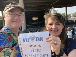 Jimmy attended Chicago / Reo Speedwagon on Aug 11th 2018 via VetTix