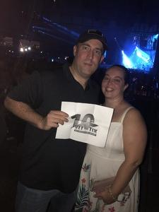 Justin attended Keith Urban: Graffiti U World Tour - Country on Aug 3rd 2018 via VetTix