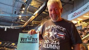 Timothy attended Rod Stewart W/ Special Guest Cyndi Lauper - Pop on Aug 11th 2018 via VetTix